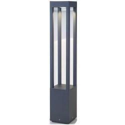 Alluminio die AGRA mark per esterno colore grigio scuro LED