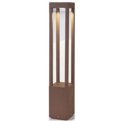 Alluminio die AGRA mark per il colore esterno marrone ossido LED