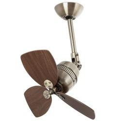 Ventilatore da soffitto disegno retro color oro vecchio - Faro VEDRA 33450