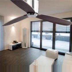 Ventilatore da soffitto nichel opaco - Faro NIAS