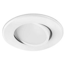 Lampada a incasso LED 400LM in PVC e PC color bianco regolabile - KOI