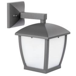 Lampada applique E27 da giardino per parete esteriore in alluminio color grigio scuro -  WILMA