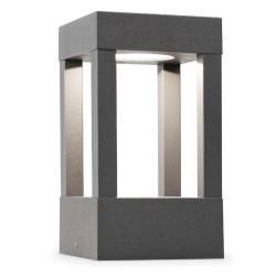 Lampioncino LED da esterno grigio scuro - AGRA