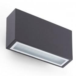 Lampada applique LED grigio scuro - TANE
