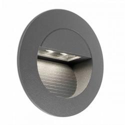 Lampada LED a incasso Ø75mm da esterno grigio scuro - MINI RACING