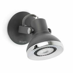 Applique 1 faretto grigio scuro - RING