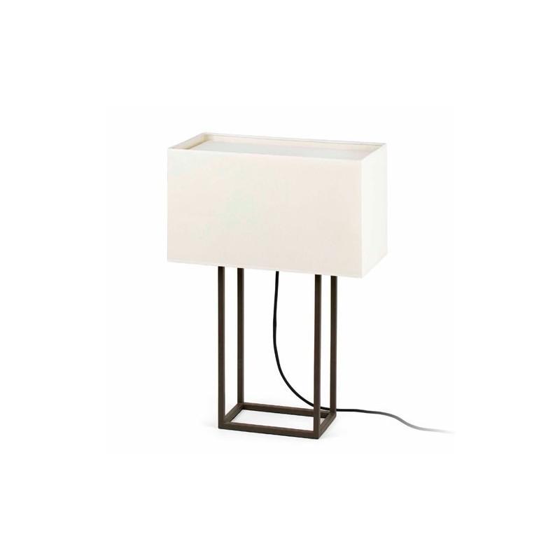 Distributore All Ingrosso Di Illuminazione Lampada Da Tavolo Marrone Beige Vesper