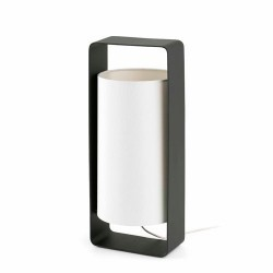 Lampada da tavolo 400mm, nero + bianco - LULA