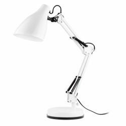Lampada da scrivania articolata, bianco - GRU