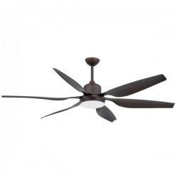 Ventilatori da Soffitto Faro WINCH marrone scuro