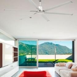 Ventilatori da Soffitto Faro TILOS marrone scuro