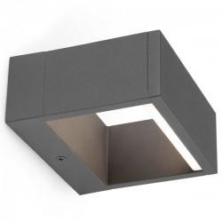 Applique da parete LED grigio scuro Faro ALP