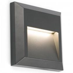 Applique LED da esterno grigio scuro GRANT
