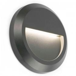 Applique LED da esterno grigio scuro GRANT-2
