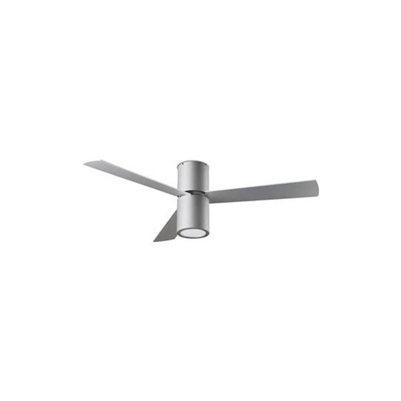 Distributore All Ingrosso Ventilatore Da Soffitto Con Luce E Telecomando Color Nichel Satinato Belmont
