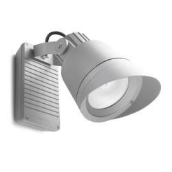 Faro proiettore G12 150W alluminio color grigio