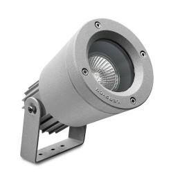 Faro proiettore GU10 max.50W alluminio color grigio