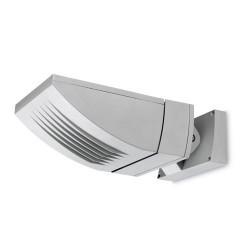 Faro proiettore R7s 300W alluminio color grigio