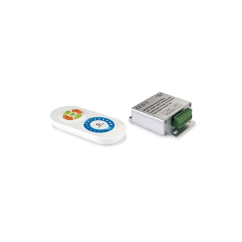 Telecomando RGB dimmerabile per strisce LED 216/432W 12/24VDC 18A